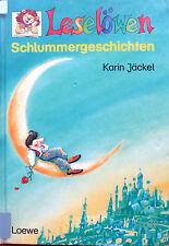 """Leselöwen -. """"Schlummergeschichten"""" von Karin Jäckel"""