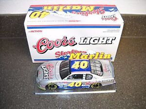 NEW! ACTION BANK STERLING MARLIN 1:24 SCALE STOCK CAR COORS LIGHT 1/1008