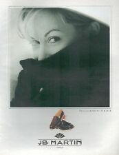▬► PUBLICITE ADVERTISING AD JB MARTIN Chaussure Femme 1997