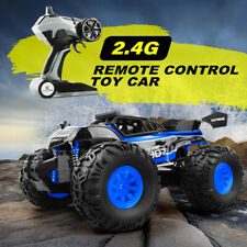 2.4GHz Remote Control RC Car Off Road 1/18 Scale for Kid Toy Monster Truck Racer