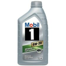 Mobil 1 0W-20 Fully Synthetic 1 Litre Car Engine Oil Lubricant 152125