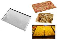Teglie teglia forata placca lamiera forata da forno per pizza e focaccia pane