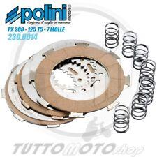 POLINI SERIE 4 DISCHI FRIZIONE RACING 7 MOLLE VESPA PE PX 200 - 125 T5 P200E