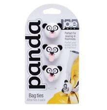 New Joie Panda Bag Ties, Set of Three - Bpa Free
