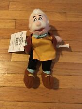 Disney Bean Bag Geppetto From Pinocchio