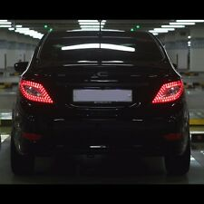 Benz CLS Style LED Tail Lights Rear Lamp For Hyundai Accent Solaris 2011~2015