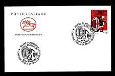 ITALIA 2011- FDC BUSTA PRIMO GIORNO MILAN CAMPIONE ITALIA 2010-2011