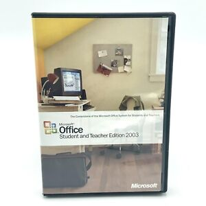Microsoft Office 2003 Student and Teacher Edition Word Excel With Product Key