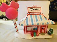 Disney Village Minnie's Cotton Candy Shop Light-Up Holiday Building D56 6001318