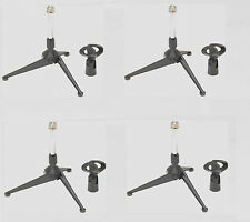 (4) On-Stage Ds7425 Desktop Tripod Microphone Stand Best Deal! Auth Dealer!