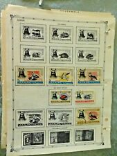 Ajman  old  Stamps Page 3