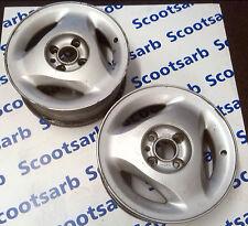 "SAAB 9000 x2 Alloy Classic AERO Rims Wheels 4545687 400105763 6x15"" 1994 - 1998"
