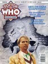DOCTOR WHO MAGAZINE #172 THE AWAKENING, KAMELION, ERIC PRINGLE, JANET FIELDING