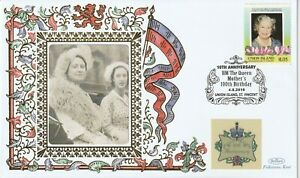 UNION ISL 2010 QUEEN MOTHER 10th ANNIVERSARY OF HER 100th BIRTHDAY BENHAM COVER