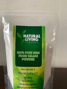 MSM Powder - Methyl-Sulfonyl-Methane - Joint & Ligament Support 99.9% Pure 700g