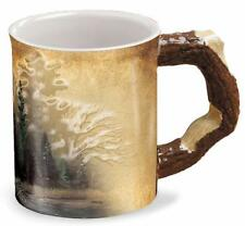 """WILD WINGS """"MISTY FOREST"""" – Sculpted Coffee Mug~NEW MINT IN BOX!"""