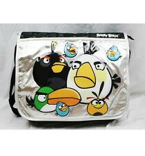 Angry Birds Large Messenger Diaper Computer Bag- Black Licensed by Rovio
