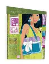 Drawing Pad Handbags Fashion Design Illustrated Girls Sticker