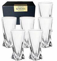 Lot de 6 Verres Bohême Pour Whisky Scotch Brandy Bourbon 350ml