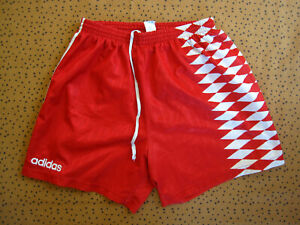 Short Adidas Football Couleur Monaco Rouge Polyester 90'S vintage - 42