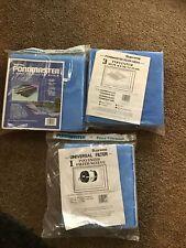 6 Fine Polyester Filter Media Pads Pondmaster 1000 2000 Poly Pond + Sleeve