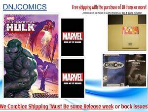 IMMORTAL HULK #48 COVER ABC  07/07 2021 NM Pre-sale Marvel Comics