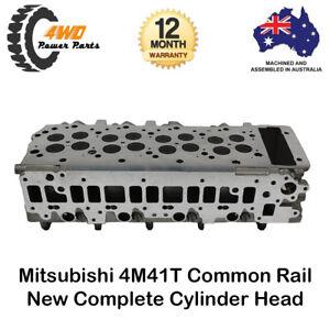 Complete Cylinder Head for Mitsubishi Triton Pajero 4M41T Common Rail 4 Cyl 16v