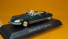 Norev 157080 Citroen DS 21 Cabriolet - Forest Green - Modell 1971 - Scale 1/43