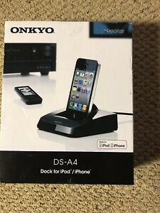 Onkyo Remote Interactive Dock For Ipod/iphone DS-A4