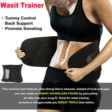 Waist Trainer Shaper Sweat Sauna Belt Thermo Wrap Slim Tummy Girdle Weight Loss
