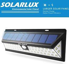 Solarux 54 Led Solar Power Light Motion Sensor Garden Outdoor Security Wall Lamp