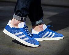 BNWB & Authentic adidas originals ® Gazelle Primeknit Blue Trainers UK Size 9