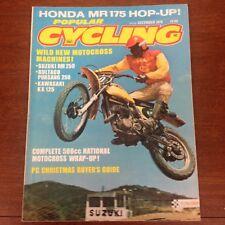 POPULAR CYCLING DECEMBER 1975 500 USGP 250 NATIONAL YAMAHA 400 MOTOCROSS ACTION