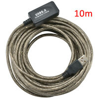 10M USB Active Repeater Cable Extension Lead for Computer Plug Socket Extender