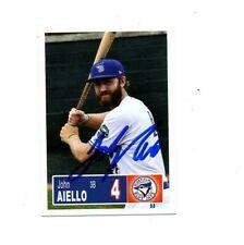 John Aiello 2018 Bluefield Blue Jays auto signed team rookie card Lansdale, PA c