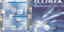 """""""Illiria Live Compilation"""" CD 1997 Techno Trance Progressive"""