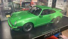 Autoart 1:18 1/18 Diecast Porsche 911 930 TURBO3.0 Metallic Viper Green-The FROG