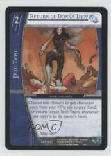 2006 VS System DC Infinite Crisis #DCR-207 Return of Donna Troy Gaming Card 3v2