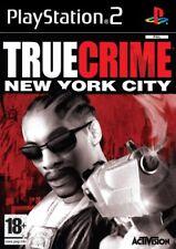 TRUE CRIMES NEW YORK CITY PLAYSTATION 2 NEW SEALED
