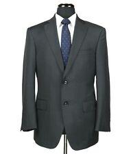 Pal Zileri Su Misura Wool 2-Btn Suit Charcoal Gray Size 40R Surgeon Cuffs Recent