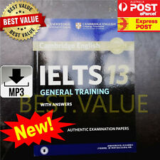 Latest Cambridge Practice Tests IELTS 13 General Student Book Answers+Audio Link