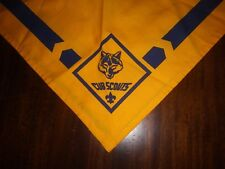Boy Scouts Official Uniform Scarf Neckerchief CUB SCOUTS New without Tags
