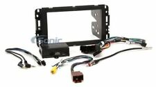Crux DKGM-49 Complete Double DIN Radio Replacement Kit for Select 2006-15 GM