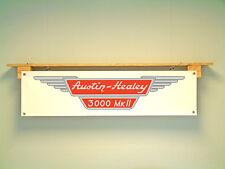 Austin Healey 3000 MK2 BANNER workshop garage or classic car display use