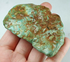 320Ct Natural High-hardness American Green Blue Turquoise Rough Specimen YBL62