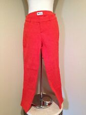 Old Navy Women's Robbie Red Mid-Rise Ankle Pixie Pants Size 6 Pre-owned