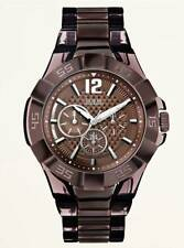 Guess Men's Multifunction Bold Brown Sport Watch - U0042G2