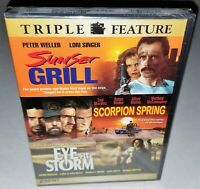Sunset Grill / Scorpion Spring / Eye of the Storm (OOP Factor Sealed 2007 DVD)