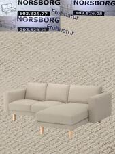 Ikea NORSBORG Bezug Recamiere Finnsta dunkelgrau 703.042.01 neu OVP Ersatzbezug