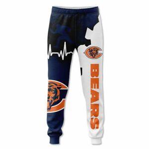 Chicago Bears 3D Sweatpants sport jogging pants Workout Trousers Casual pants